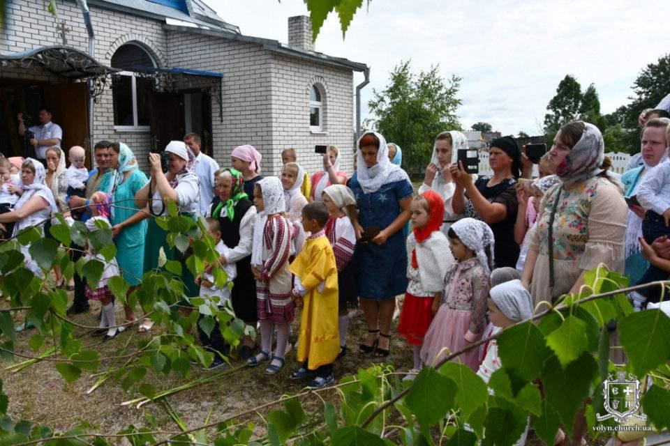 Свято-Миколаївський храм села Колодії відзначив 20-літній ювілей. ФОТО
