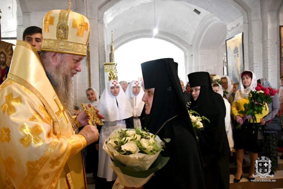 Преосвященнійший єпископ Волинський і Луцький Нафанаїл молитовно відзначив день ангела. ФОТО