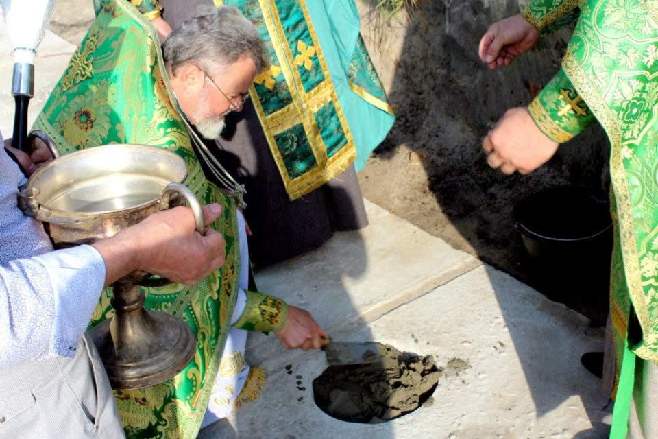 Освятили місце під Свято-Іллінський храм у Камені-Каширському. ФОТО