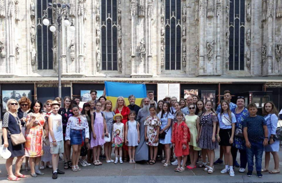 Православні діти з України виступили на концерті у Мілані