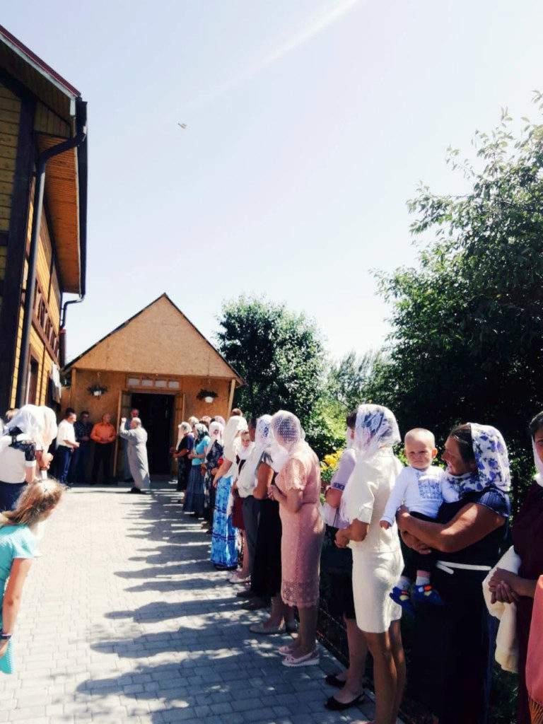 Єпископ Нафанаїл відвідав гониму громаду міста Берестечко