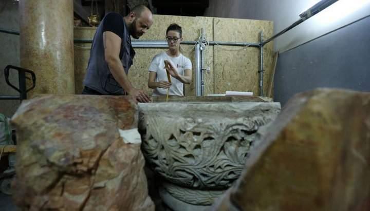 В храмі Різдва Христового у Вифлиємі знайшли 1500-літню купель