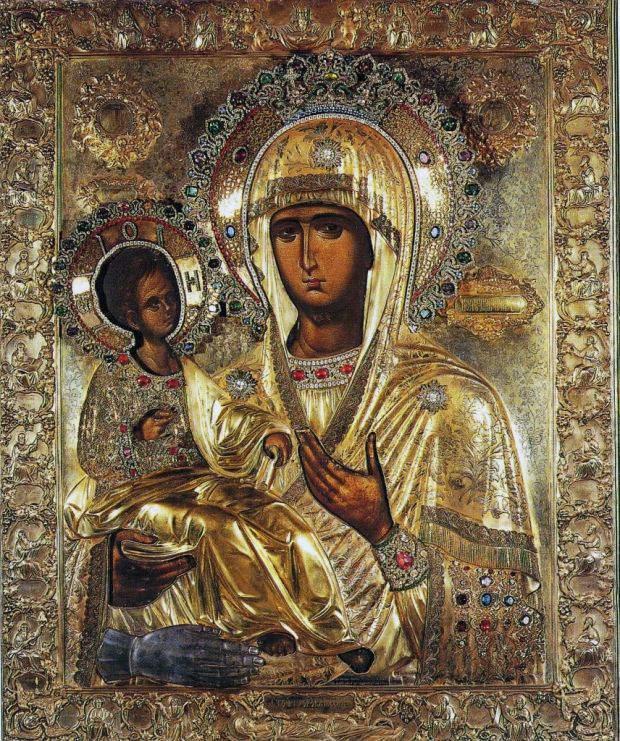 """25 липня – день памяті ікони Божої Матері """"Троєручиця"""". ВІДЕО"""