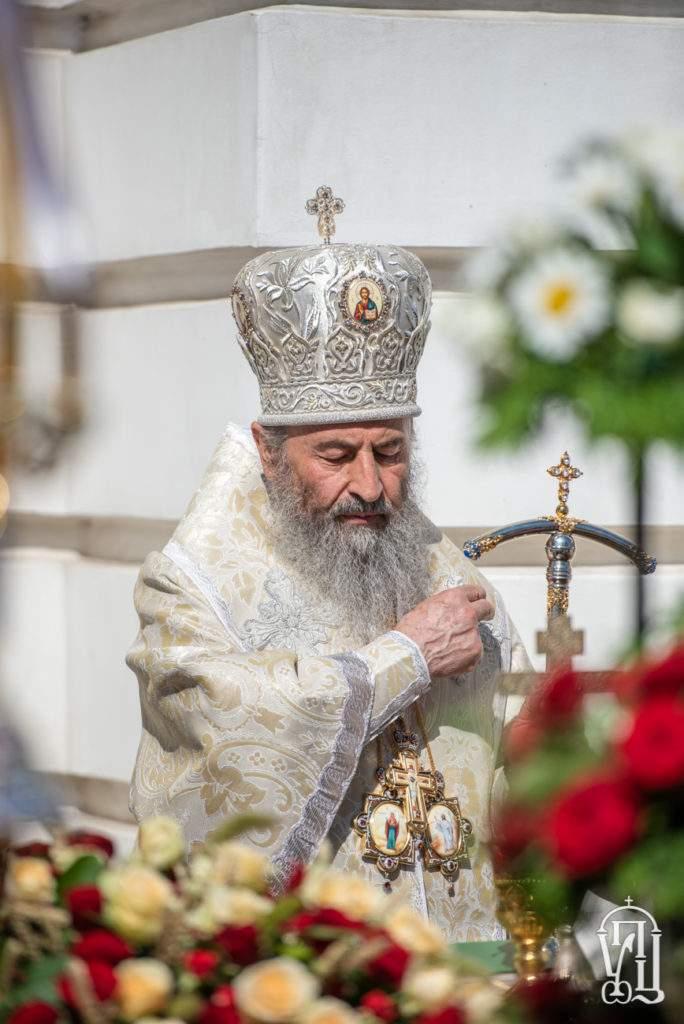 Предстоятель у п'яті роковини з дня смерті Блаженнішого Митрополита Володимира звершив божественну літургію